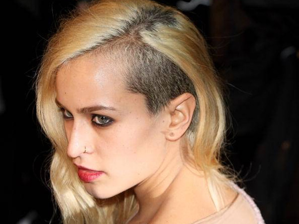 Half Shaved Hairstyles - SloDive