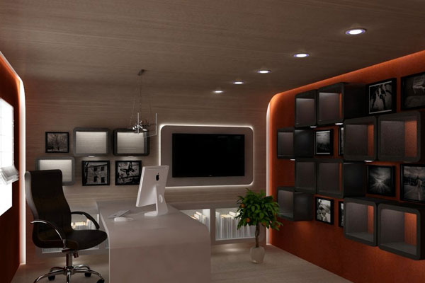 Larger Home Office Concept