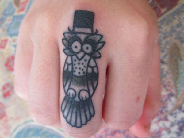 Middle Finger Tattoo