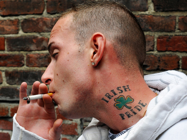 irish pride 25 Fantastic Irish Tattoos For Men