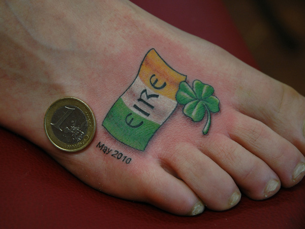 Irish Patriot's Tattoo