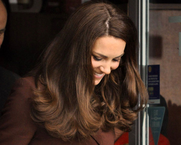 in liverpool 25 Elegant Kate Middleton Haircut