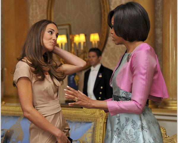 kate middleton and michelle obama 25 Elegant Kate Middleton Haircut