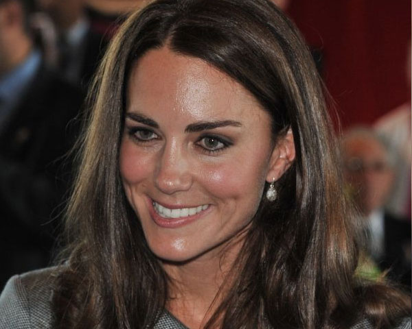 medium hair 25 Elegant Kate Middleton Haircut