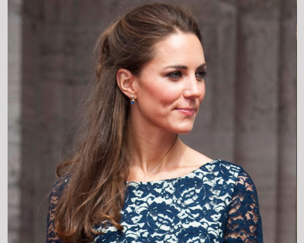 straight hairstyle 25 Elegant Kate Middleton Haircut