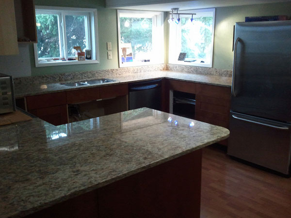 Patterned Kitchen Countertop