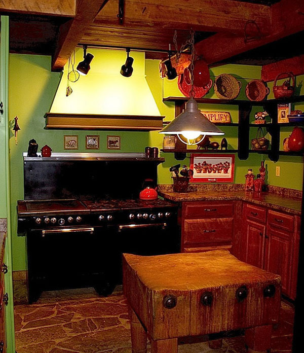 Ethnic Kitchen Pantry