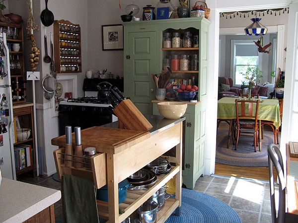 Grandma's Cute Kitchen Pantry