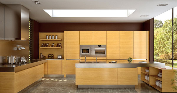 Kitchen Wood Style