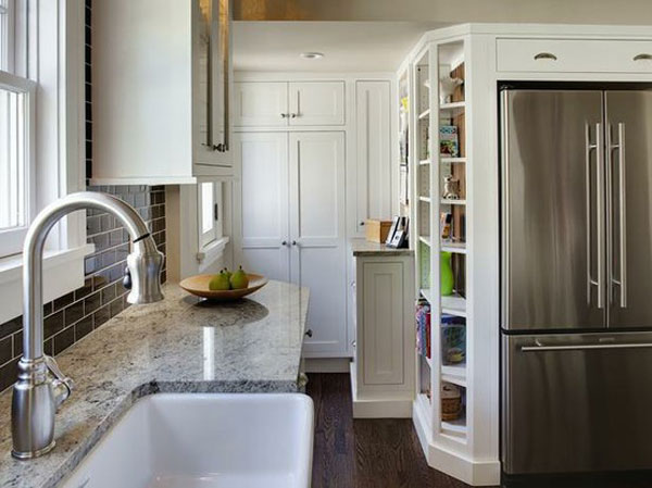 Stainless Steel Kitchen Pantry