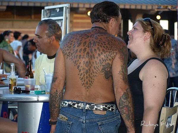 leopard print back tattoo 30 Majestic Leopard Print Tattoos