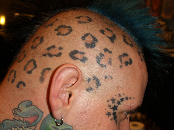 meet halo 30 Majestic Leopard Print Tattoos