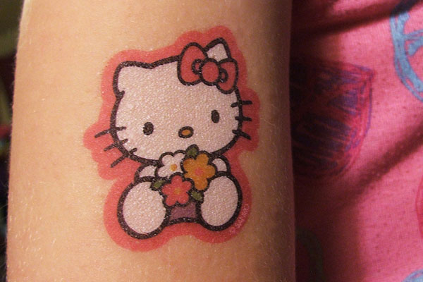 cute kitten tattoos