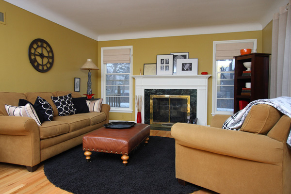 Biscuit Living Room Color Scheme