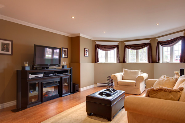 Living Room With Brown Furniture Color Ideascolor Schemes For ...