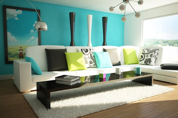 30 Stupendous Living Room Color Schemes - SloDive