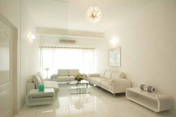 white living room 30 Excellent Living Room Paint Color Ideas