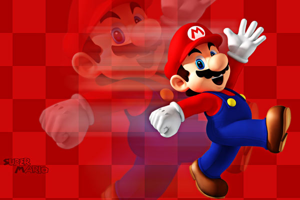 Mario Red Reflection