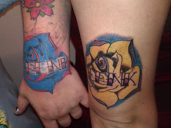 eenk 25 Adorable Matching Tattoos For Lovers