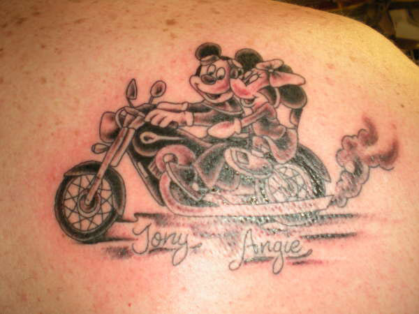 byke tattoo 20 Tremendous Motorcycle Tattoos