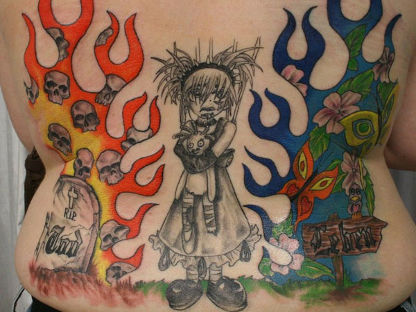 color new school puppet 25 New School Tattoos You Can Have On You