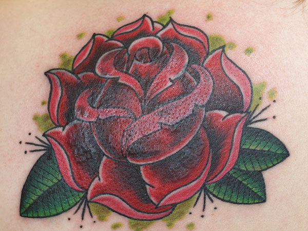 new school rose tattoo 25 New School Tattoos You Can Have On You
