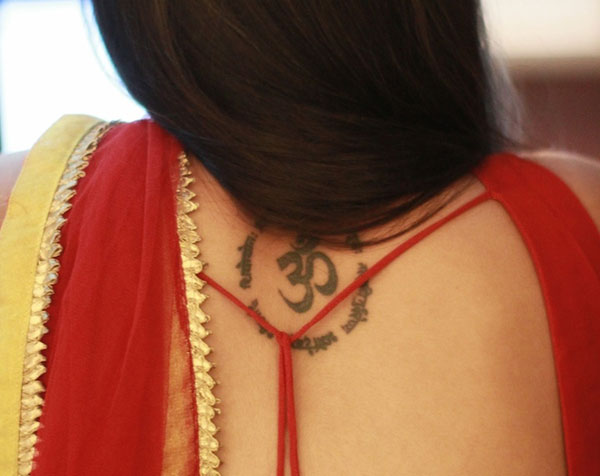 Beautiful Om Tattoo