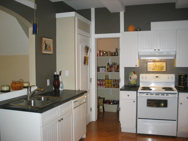 Tucked Away Pantry View