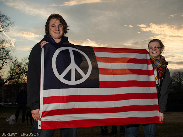Peace in Flag
