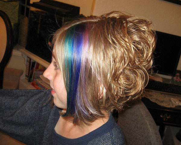 rainbow bright 25 Pretty Permed Hairstyles
