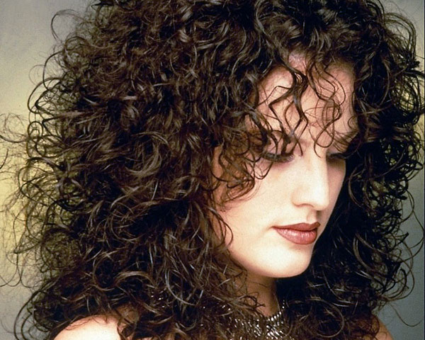 shoulder length curls 25 Pretty Permed Hairstyles