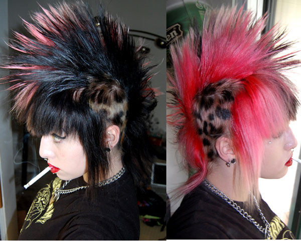 huuuuuurr 35 Exceptional Punk Hairstyles