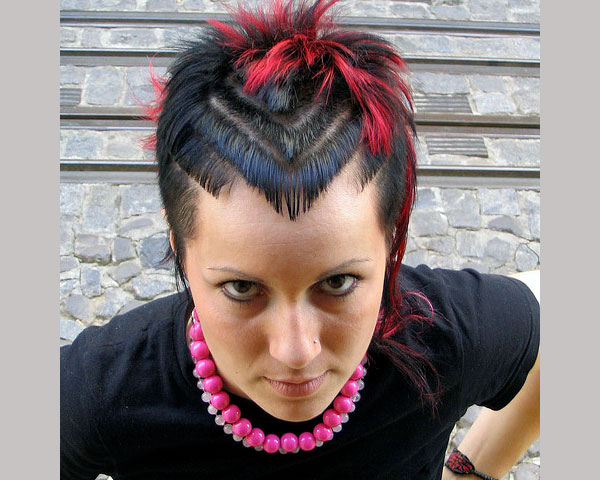cool hair styles for punks