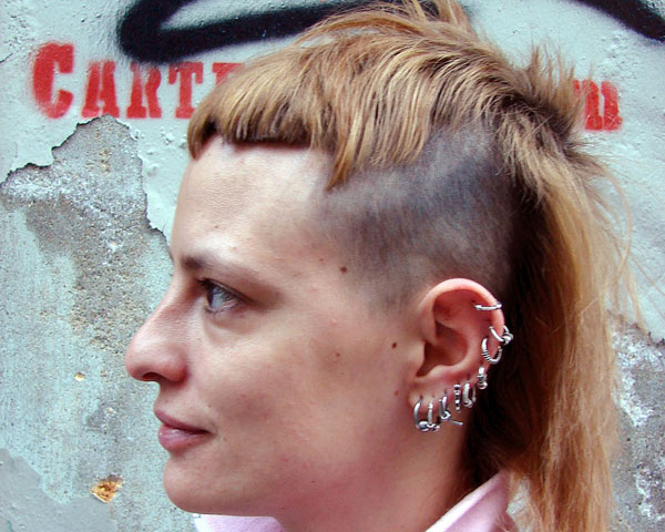 lisbon portugal 35 Exceptional Punk Hairstyles