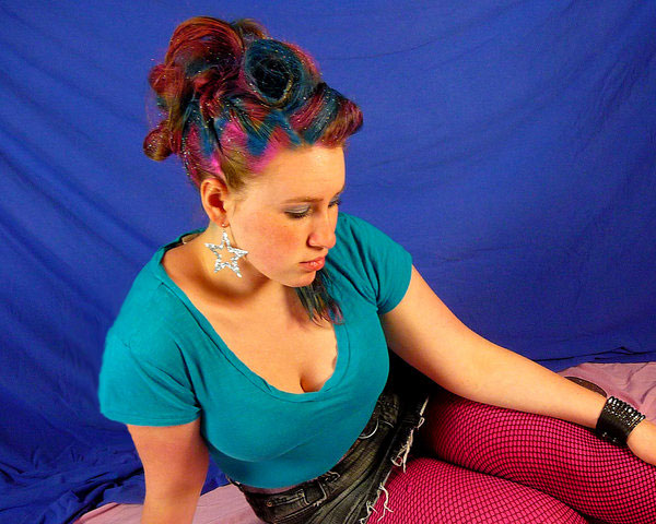 pin up 35 Exceptional Punk Hairstyles