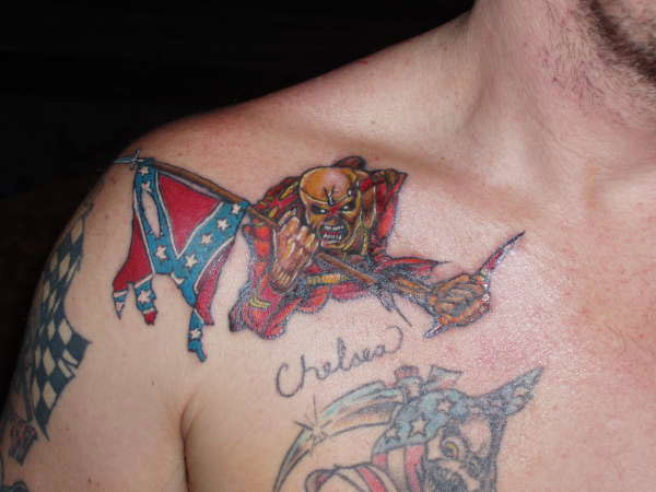 the redneck trooper 20 Astounding Redneck Tattoos