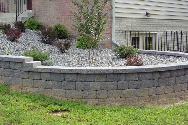 retaining wall wasteland makeover