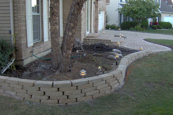 Retaining Wall Curves