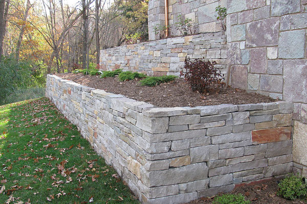 Retaining Wall Stone Colors