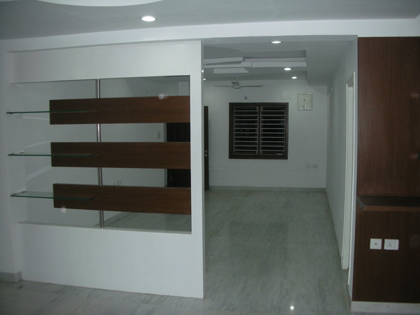 Provisioned Dividing Wall