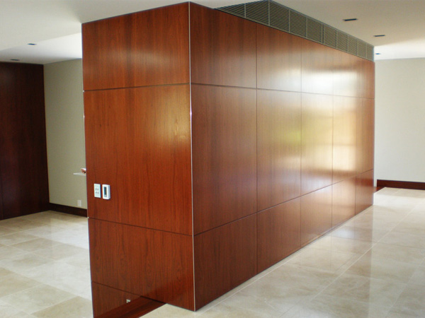 Wooden Cabinet and Room Partition