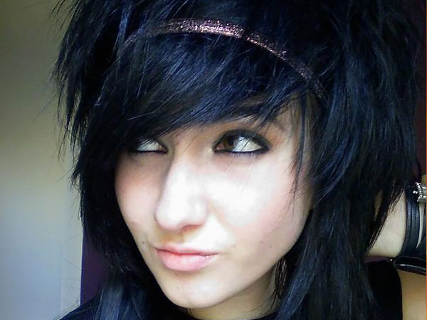 scene girl 35 Charming Scene Hairstyles For Girls