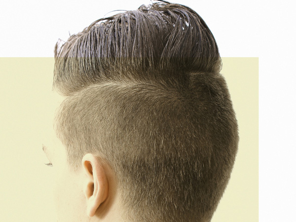 Men Short Hairstyles Back View