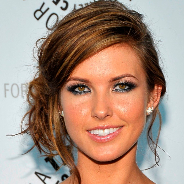 Side Bun Hairstyles with Bangs