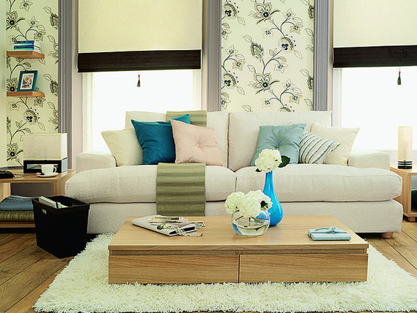 Color Cozy Sitting Room