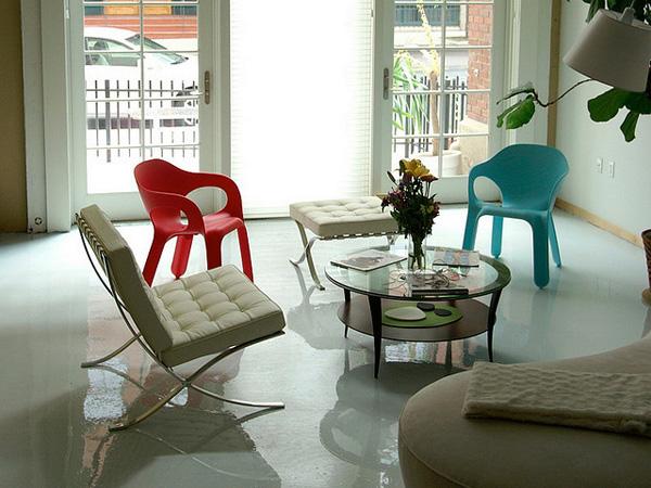 Glossy Sitting Room
