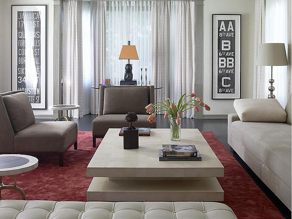 Patterned Ideas Sitting Room
