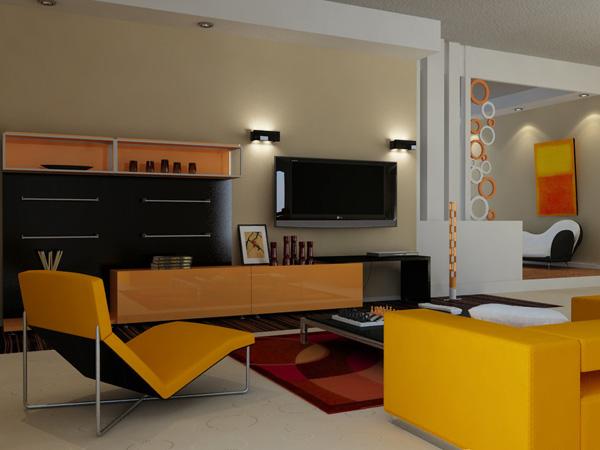 Modern Colors Sitting