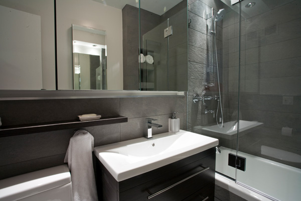 Stylish Small Bathroom Remodel small bathroom remodel ideas decorated with brown and white color using minimalist interior and modern decoration Stylish Sauna Suggestions