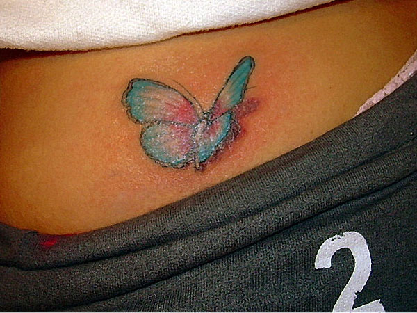 Butterfly Touch Tattoo